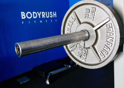 BodyRush Fitness barbell